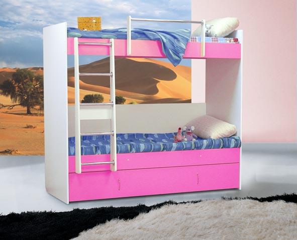 Кровать двухъярусная 3 (Элфис) - Фотография 1.